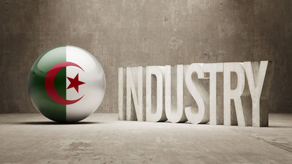 Algeria. Industry Concept.