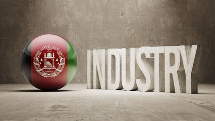 Afghanistan. Industry Concept.