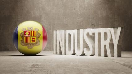 Andorra. Industry Concept.