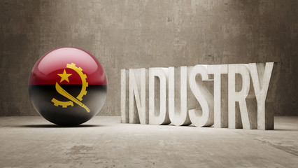 Angola. Industry Concept.