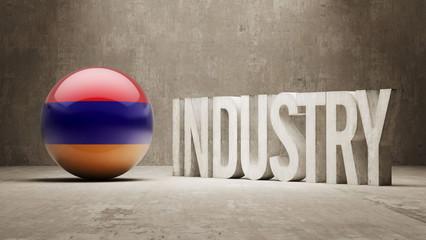Armenia. Industry Concept.