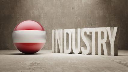 Austria. Industry Concept.