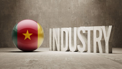 Cameroon. Industry Concept.