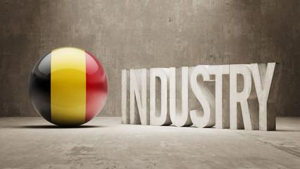 Belgium. Industry Concept.