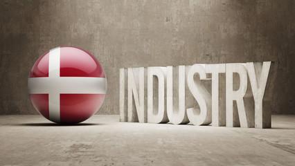 Denmark. Industry Concept.