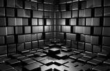 Fototapety Abstract cubes background