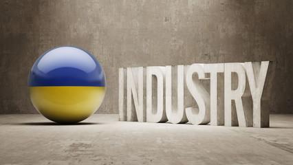 Ukraine. Industry Concept.