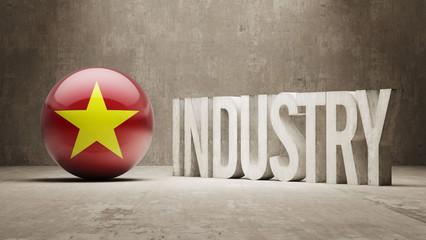 Vietnam. Industry Concept.