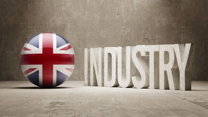 United Kingdom. Industry Concept.