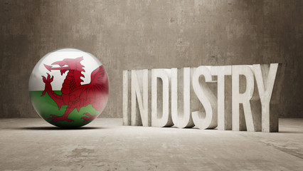 Wales. Industry Concept.