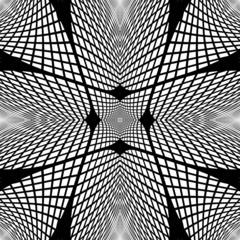 Design monochrome grid geometric background