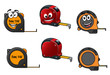 Set of retractable tape measures - 77811579