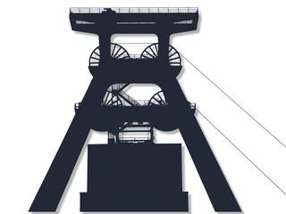 Weltkulturerbe. Zollverein - Förderturm