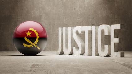 Angola. Justice Concept.