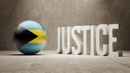 Bahamas. Justice Concept.