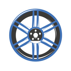 Cerchio in lega ruota automobile