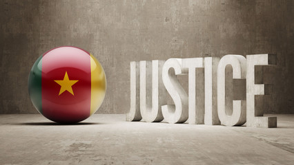 Cameroon. Justice Concept.