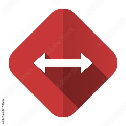 canvas print picture arrow flat icon