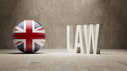 United Kingdom. Law Concept.