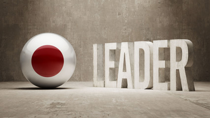 Japan. Leader Concept.