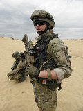 Poland soldier NATO portret