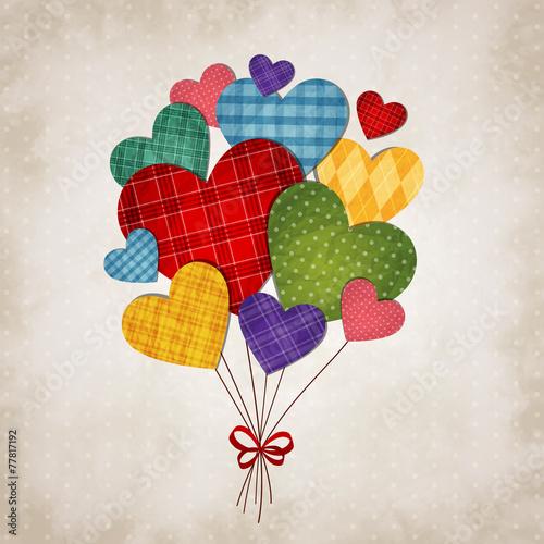 Fototapeta Romantic heart