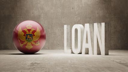 Montenegro. Loan Concept.