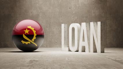 Angola. Loan Concept.