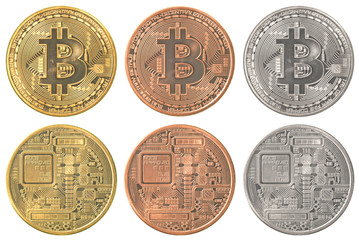 bitcoins collection set
