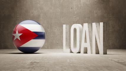 Cuba. Loan Concept.