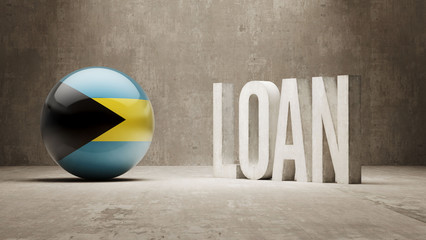 Bahamas. Loan Concept.