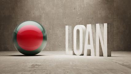 Bangladesh. Loan Concept.