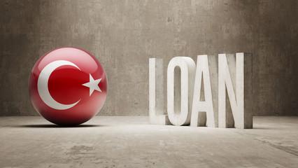 Turkey. Loan Concept.