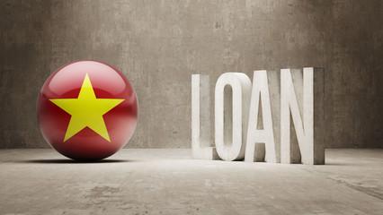 Vietnam. Loan Concept.