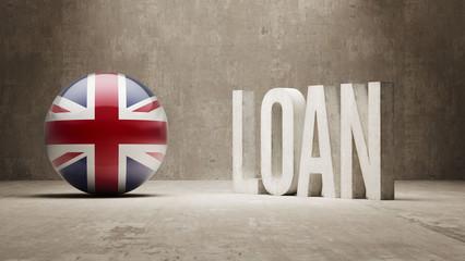 United Kingdom. Loan Concept.