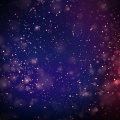 glitter bokeh blur background