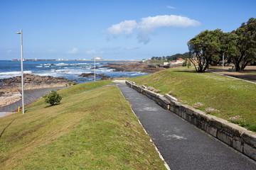 Foz Seaside Park in Porto