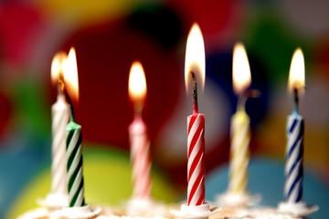 Happy Birthday -  Flammen