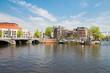 Blue bridge of  Amsterdam