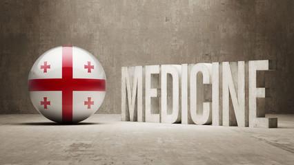 Georgia Medicine Concept.