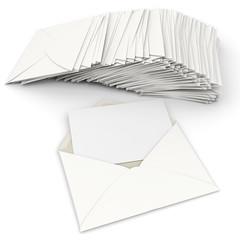 Correspondence in white