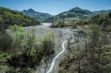 Mining disaster and water pollution in Romania.