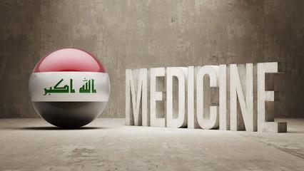 Iraq. Medicine Concept.