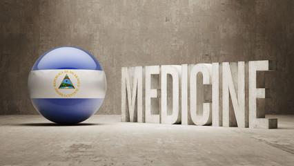 Nicaragua. Medicine Concept.