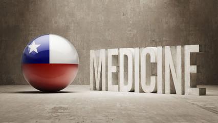 Chile. Medicine Concept.