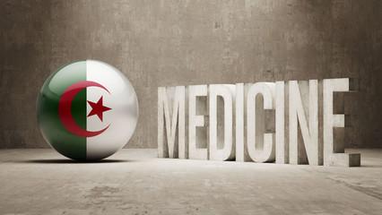 Algeria. Medicine Concept.