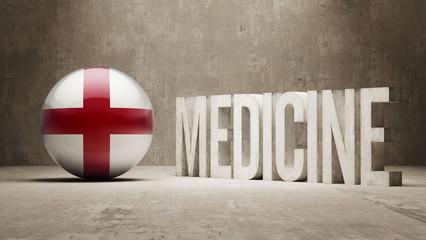 England. Medicine Concept.