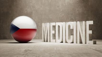 Czech Republic. Medicine Concept.