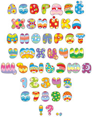 Easter Russian font