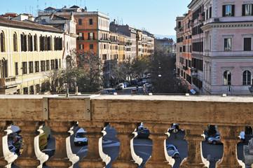 Roma, Via Carlo Alberto da Piazza Santa Maria Maggiore